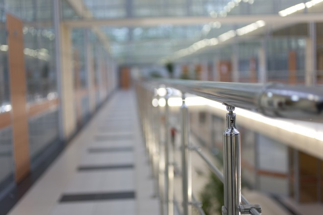 коридор центрального корпуса